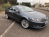 2012 VOLKSWAGEN CC 2.0 GT TDI BLUEMOTION TECHNOLOGY 4d 168 BHP £8444.00