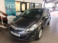 USED 2013 62 VAUXHALL CORSA 1.2 SXI AC ECOFLEX S/S 5d 83 BHP This £30 tax 2 lady owner 44400 miles Vauxhall Corsa is finished in Metallic asteroid grey with Black and red cloth sports seats. It is fitted with power steering, Bluetooth with streaming, cruise control, aux port, remote locking, electric windows and mirrors, air conditioning, alloys, privacy glass, CD Stereo and more. It comes with a full Vauxhall service history consisting of service stamps, last serviced at 39527 miles. The current Mot runs till February 2020.