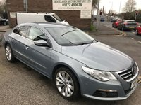2011 VOLKSWAGEN PASSAT 2.0 CC GT TDI BLUEMOTION TECHNOLOGY DSG 4d AUTO 168 BHP £SOLD