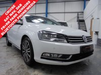 "USED 2011 61 VOLKSWAGEN PASSAT 2.0 SPORT TDI BLUEMOTION TECHNOLOGY 5d 168 BHP Full Service History Inc Timing Belt Change, Satellite Navigation, Bluetooth Phone and Media Streaming, Front and Rear Parking Sensors, DAB/CD/MMI/BT/Aux, Auto Lights and Wipers, Cruise Control, Dual Zone Climate, 4 x Electric Windows, Heated Electric Mirrors, Remote Locking with 2 Keys, 17"" Alloys"