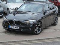 USED 2012 12 BMW 1 SERIES 1.6 116I SPORT 5d AUTO 135 BHP