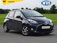 USED 2016 66 TOYOTA YARIS 1.5 VVT-I EXCEL M-DRIVE S 5d AUTO 73 BHP Hybrid electric and petrol 2016 Toyota Yaris 1.5vvti 5dr in black with service history and just 33000 miles.