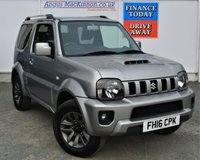 USED 2016 16 SUZUKI JIMNY 1.3 SZ4 3d Petrol Family 4x4 SUV AUTO with Great High Spec Unbelievable Low Mileage and in Fantastic Condition PREVIOUSLY LOCALLY OWNED