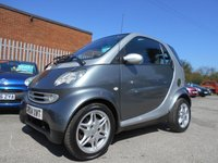 USED 2004 04 SMART CITY COUPE 0.7 PASSION SOFTOUCH 2d AUTO 61 BHP £30 ROAD TAX 39,000 MILES AUTOMATIC