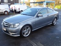 USED 2012 12 MERCEDES-BENZ C CLASS 2.1 C220 CDI BlueEFF AMG Sport Edition 125 Auto Navigation*FSH* Low rd Tax