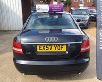 USED 2007 57 AUDI A6 TDI SE TDV MOT 3rd April 2020... Sat Nav... 6 Speed Manual... 140 BHP..... Cost over £25k New.... Cruise Control... Just had the car serviced.... Warranty with Recovery Included