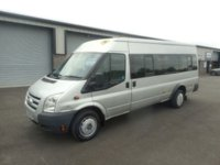 2009 FORD TRANSIT 2.4 430 TREND SHR BUS 17 STR 1d 115 BHP AIR CON CRUISE NO VAT £4491.00