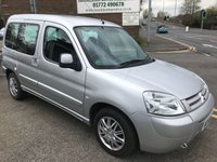 2007 CITROEN BERLINGO 1.6 MULTISPACE FORTE 16V 5d 108 BHP £2495.00