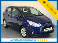 USED 2015 15 FORD B-MAX 1.6 TITANIUM 5d AUTO 104 BHP FULL FORD HISTORY, 1 OWNER - PARKING SENSORS - BLUETOOTH - AUX/USB CONNECTION - CRUISE - DAB