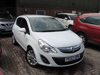 USED 2012 62 VAUXHALL CORSA 1.2 SE 5d 83 BHP ANY PART EXCHANGE WELCOME, COUNTRY WIDE DELIVERY ARRANGED, HUGE SPEC