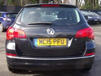 USED 2015 15 VAUXHALL ASTRA 1.6i 16V Design 5dr Auto LOW MILEAGE FSH FRONT & REAR PARING SENSORS