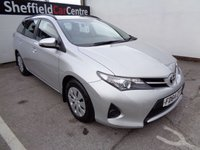 USED 2015 64 TOYOTA AURIS 1.4 ACTIVE D-4D 5d 89 BHP £166 A MONTH LOW ROAD TAX FULL SERVICE HISTORY  CLIMATE CONTROL DUAL PURPOSE VEHICLE