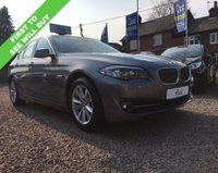 USED 2013 13 BMW 5 SERIES 2.0 520D EFFICIENTDYNAMICS 4d 181 BHP