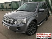 USED 2012 12 LAND ROVER FREELANDER 2 2.2 SD4 HSE 5d AUTO 190 BHP PAN ROOF SAT NAV LEATHER SIDE STEPS FSH 4WD. SATELLITE NAVIGATION. PANORAMIC SUNROOF. STUNNING GREY MET WITH FULL BLACK LEATHER TRIM. ELECTRIC HEATED SEATS. CRUISE CONTROL. SIDE STEPS. 19 INCH GREY ALLOYS. COLOUR CODED TRIMS. PRIVACY GLASS. FRONT AND REAR PARKING SENSORS. BLUETOOTH PREP. CLIMATE CONTROL. TRIP COMPUTER. R/CD/MP3 PLAYER. MFSW. MOT 04/20. SUV & 4X4 CAR CENTRE LS23 7FR. TEL 01937 849492 OPTION 2