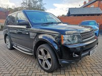 2009 LAND ROVER RANGE ROVER SPORT 5.0 V8 HSE 5d AUTO 510 BHP £17495.00