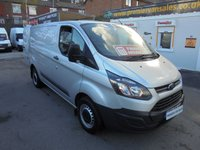 2014 FORD TRANSIT CUSTOM 2.2 TDCI 290 ECO-TECH SHORT WHEEL BASE LOW ROOF P/V FULL SERVICE HISTORY (( FINANCE AVAILABLE ))  £7995.00