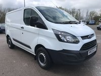 2013 FORD TRANSIT CUSTOM 310 100PS SWB L1 EURO 5 **GREAT VALUE** £5995.00