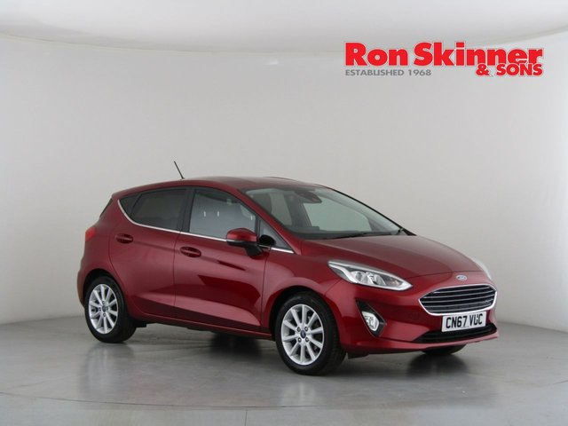 View our 2017 67 FORD FIESTA 1.0 TITANIUM 5d 99 BHP
