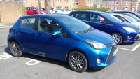USED 2015 65 TOYOTA YARIS 1.3 VVT-I ICON 5d 99 BHP ONLY 7910 MILES FROM NEW. VERY RELIABLE CAR WHICH IS CHEAP TO RUN, HAS  LOW CO2 EMISSIONS (114G/KM) AND £30 ROAD TAX. EXCELLENT FUEL ECONOMY AND BRILLIANT SPECIFICATION INCLUDING AIR CONDITIONING, ALLOY WHEELS, PARKING SENSORS, NAVIGATION SYSTEM AND FULL MAIN DEALER SERVICE HISTORY. ALL OF OUR VEHICLES MEET LARGE CITY EMISSION STANDARDS!