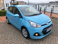 USED 2014 14 HYUNDAI I10 1.0 SE 5d 65 BHP 1 LADY OWNER FROM NEW! FULL SERVICE HISTORY!