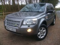 USED 2007 57 LAND ROVER FREELANDER 2.2 TD4 GS 5d 159 BHP