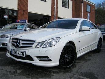2011 MERCEDES-BENZ E CLASS 3.0 E350 CDI BLUEEFFICIENCY SPORT 2d AUTO 265 BHP £9995.00