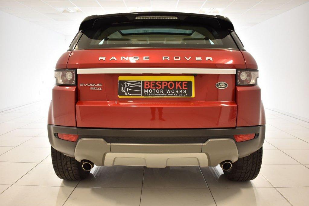 USED 2014 14 LAND ROVER RANGE ROVER EVOQUE 2.2 SD4 PRESTIGE LUX 5 DOOR AUTOMATIC 190 BHP