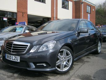 2010 MERCEDES-BENZ E CLASS 3.0 E350 CDI BLUEEFFICIENCY SPORT 4d AUTO 231 BHP £9988.00