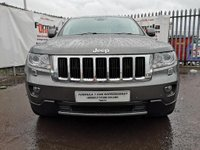 USED 2012 62 JEEP GRAND CHEROKEE 3.0 CRD V6 Limited 4x4 5dr BLUETOOTH+HEATED SEATS+CLIMATE
