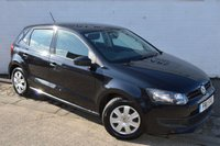 2011 VOLKSWAGEN POLO 1.2 S BLACK 5DOOR PETROL CHEAP CAR CHEAP TAX LOW INSURANCE £3978.00