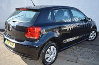 USED 2011 11 VOLKSWAGEN POLO 1.2 S BLACK 5DOOR PETROL CHEAP CAR CHEAP TAX LOW INSURANCE
