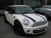 USED 2013 13 MINI HATCH COOPER 1.6 COOPER D BAKER STREET 3d 110 BHP One Owner from new Baker Street edition Auto air conditioning. Full MINI History. Multi function steering wheel. Half leather.