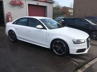 2012 AUDI A4 2.0 TDI BLACK EDITION 4d 174 BHP £SOLD