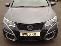USED 2015 65 HONDA CIVIC 1.6 i-DTEC EX Plus 5dr  Connect Navigation Htd Lthr Media Bluetooth £20 tax