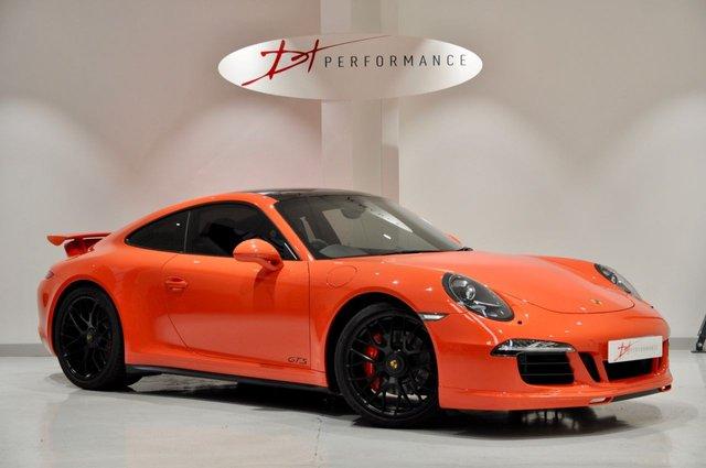 2015 65 PORSCHE 911 3.8 CARRERA GTS PDK 2d AUTO 430 BHP LAVA ORANGE