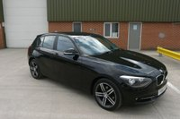 USED 2014 14 BMW 1 SERIES 2.0 118D SPORT 5d 141 BHP