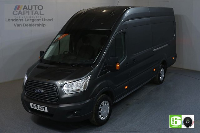 2018 18 FORD TRANSIT 2.0 350 L4 H3 130 BHP JUMBO EXTRA LWB H/ROOF AIR CON EURO 6 AIR CONDITIONING, EURO 6 TREND, EXTRA LWB H/ROOF