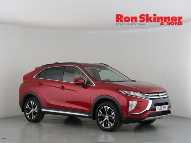 View our 2018 18 MITSUBISHI ECLIPSE CROSS 1.5 3 5d AUTO 161 BHP