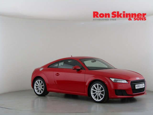 View our 2016 65 AUDI TT 2.0 TDI ULTRA SPORT 2d 182 BHP