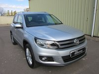 2014 VOLKSWAGEN TIGUAN 2.0 MATCH TDI BLUEMOTION TECHNOLOGY 4MOTION 5d 140 BHP £12995.00