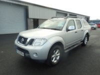 2013 NISSAN NAVARA 2.5 DCI TEKNA 4X4 DCB 1d 169 BHP LEATHER NO VAT SKI BACK £8991.00