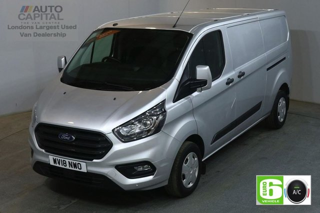 2018 18 FORD TRANSIT CUSTOM 2.0 300 TREND L2 H1 105 BHP LWB EURO 6 AIR CON VAN AIR CONDITIONING EURO 6
