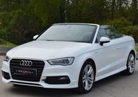 USED 2015 65 AUDI A3 2.0 TDI S LINE 2d 150 BHP ** PART EXCHANGE WELCOME** **PCP FINANCE AVAILABLE**
