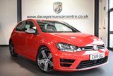 USED 2015 15 VOLKSWAGEN GOLF 2.0 R 3DR 298 BHP full service history  *NO ADMIN FEES* FINISHED IN STUNNING TORNADO RED WITH ANTHRACITE UPHOLSTERY + FULL SERVICE HISTORY + BLUETOOTH + PARKING SENSORS + SPORT SEATS + AUTO STOP/START + ELECTRIC FOLDING MIRRORS + DAB RADIO + 18 INCH ALLOY WHEELS