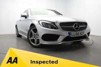 USED 2017 66 MERCEDES-BENZ C CLASS 2.1 C 220 D AMG LINE 2d 168 BHP NAV - REVERSE CAM - LEATHER