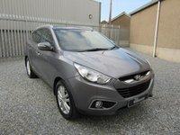 2013 HYUNDAI IX35 2.0 PREMIUM CRDI 4WD 5d AUTO 181 BHP £SOLD