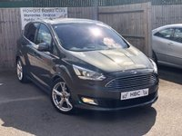 USED 2017 17 FORD C-MAX 1.0 TITANIUM X 5d 124 BHP BALANCE OF FORD WARRANTY