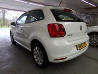 USED 2015 15 VOLKSWAGEN POLO 1.0 SE 3d 60 BHP TWO OWNERS FROM NEW TWO KEYS SERVICE HISTORY MOT 11 FEBRUARY 2020 BLUE TOOTH
