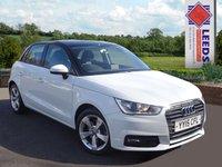 USED 2015 15 AUDI A1 1.4 TFSI Sport 5dr  S Tronic Navigation with low mileage and FSH *High Spec