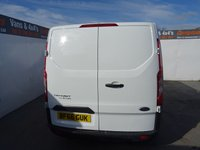 USED 2017 66 FORD TRANSIT CUSTOM 2.0 290 LR P/V 1d 104 BHP FORD CUSTOM EURO 6 LOW MILES